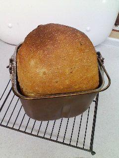 栗食パン 焼きあがり