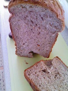 栗食パン 断面